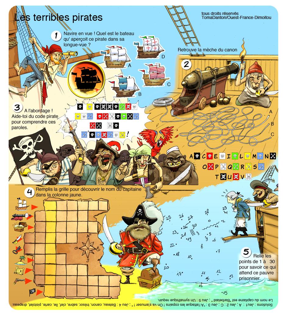 Toma Danton illustrations et animations jeunesse » Jeux à imprimer